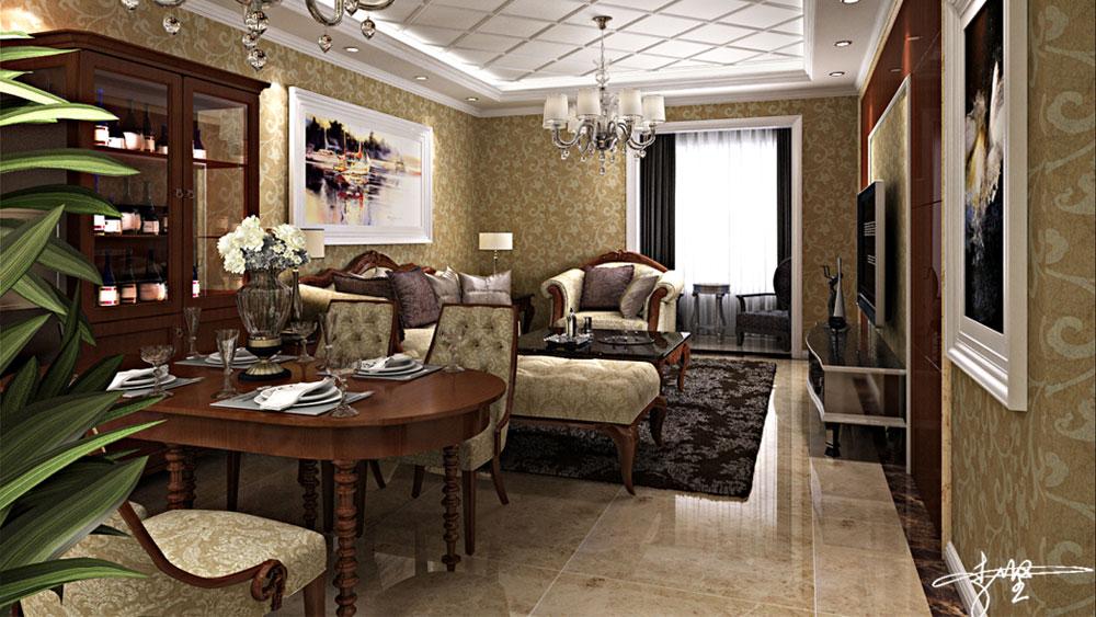 美式风格 三居室 青秀城 高度国际 装修设计 其他图片来自高度国际装饰宋增会在青秀城 三居室 美式风格的分享