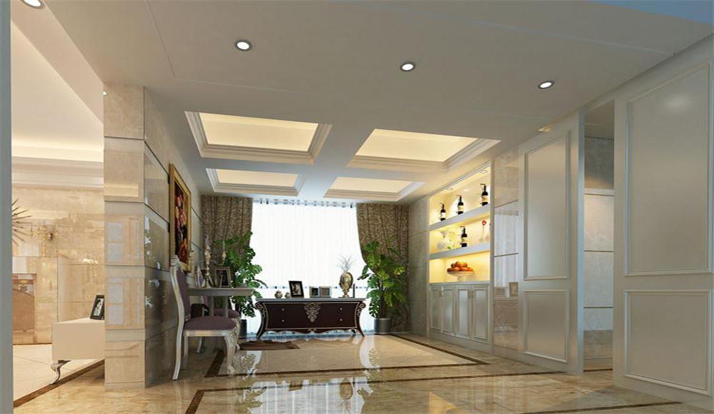 客厅图片来自深圳市浩天装饰在阳光天地的分享