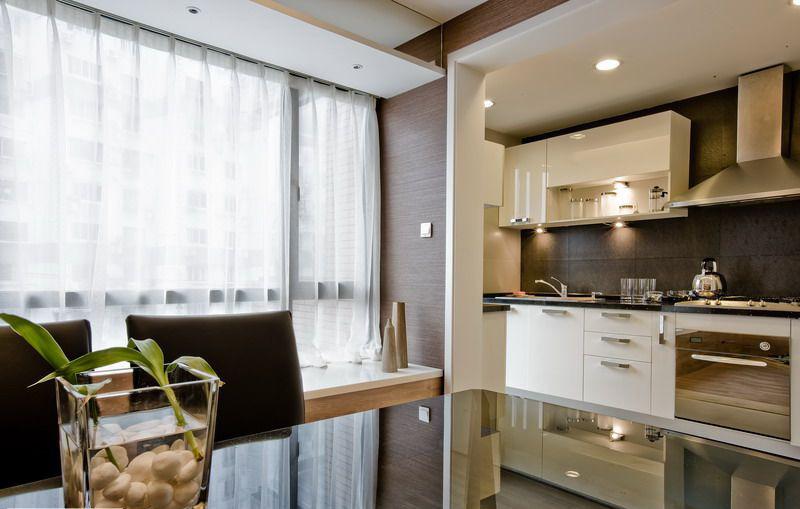 简约 二居 白领 收纳 旧房改造 80后 小资 厨房图片来自名仕装饰-小飞在统建天成美雅现代简约的分享