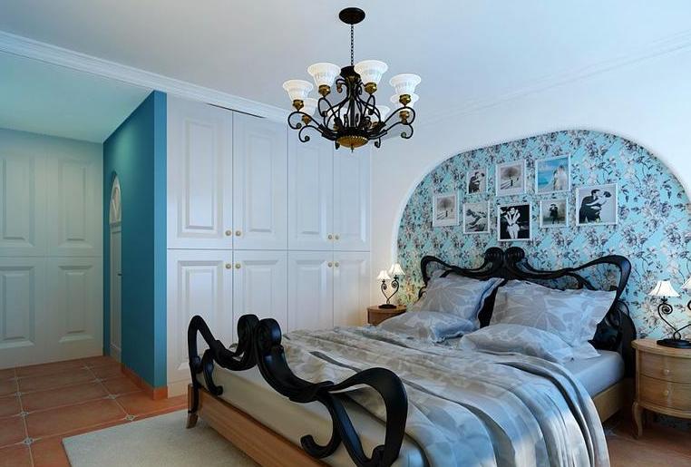 正商铂钻 田园风格 美巢装饰 卧室图片来自美巢装饰在正商铂钻154平四室田园风格设计的分享