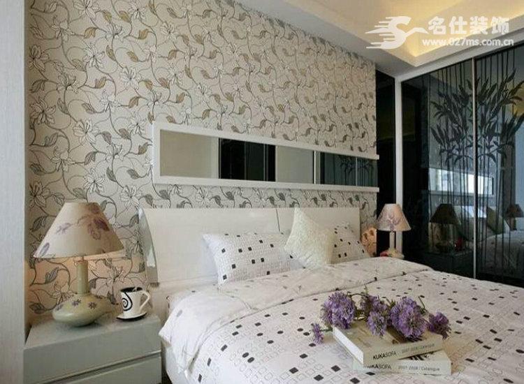 简约 二居 白领 收纳 旧房改造 80后 小资 卧室图片来自名仕装饰-小飞在平安光谷春天强有力的质感的分享