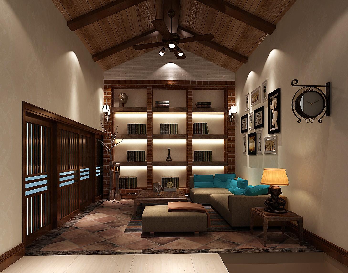 简约 混搭 别墅 白领 80后 复式 高度国际 鲁能7号院 时尚 书房图片来自北京高度国际装饰设计在鲁能7号院混搭复式公寓的分享