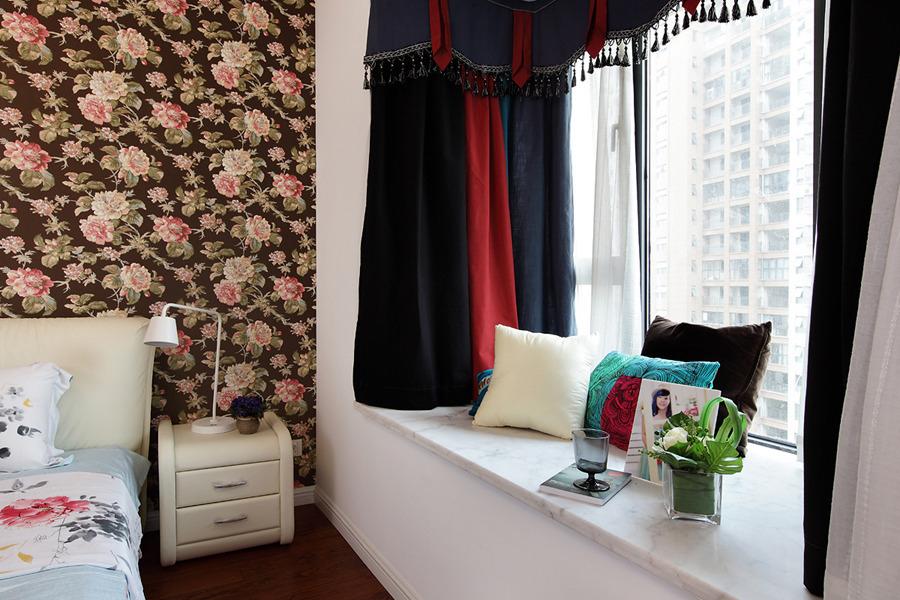 名仕装饰 简约 三居 卧室图片来自名仕装饰龚经理在华润橡树湾137平现代风的分享