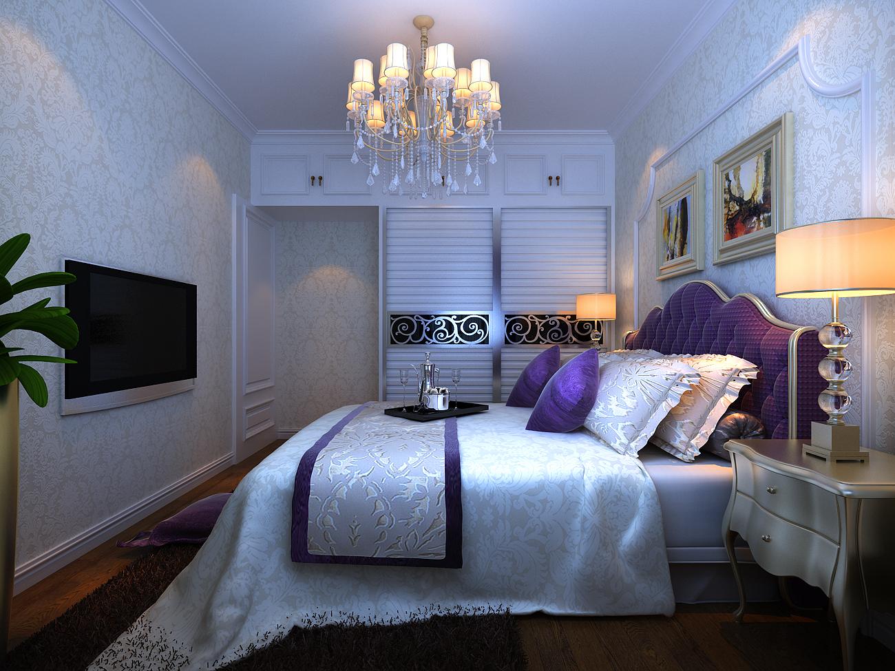 卧室图片来自郑州宏喆装饰在雅宝东方国际广场的分享