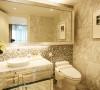 孔雀城现代简欧装饰风格,装修案例——卫生间