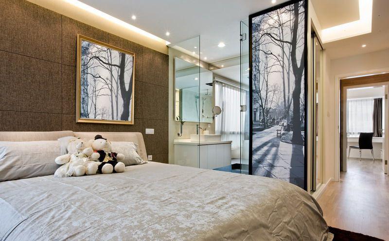 简约 二居 白领 收纳 旧房改造 80后 小资 卧室图片来自名仕装饰-小飞在统建天成美雅现代简约的分享