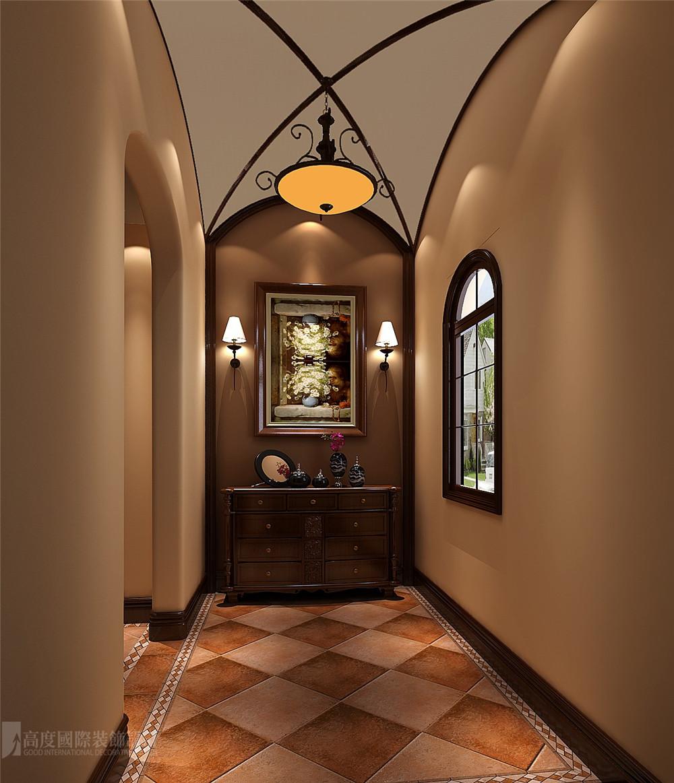 玄关图片来自高度国际别墅装饰设计在万万树托斯卡纳风格装修效果图的分享