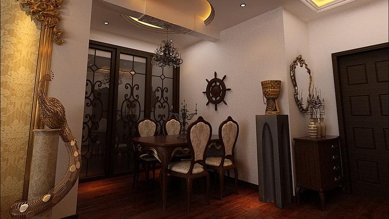 欧式风格 两居室 阳光小区 高度国际 装修设计 餐厅图片来自高度国际装饰宋增会在阳光小区 两居室 欧式风格的分享