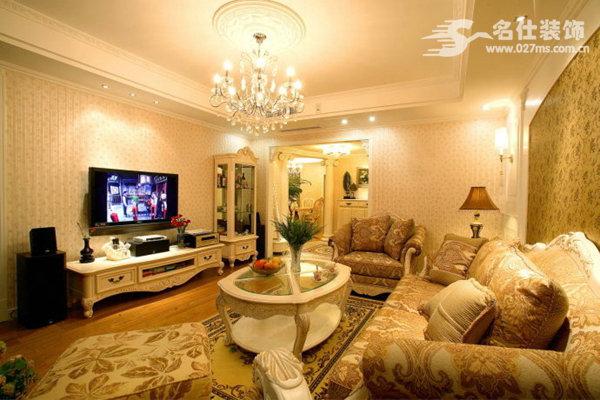 欧美 三居 白领 收纳 旧房改造 80后 小资 客厅图片来自名仕装饰-小飞在清江山水欧美奢华有大气的分享