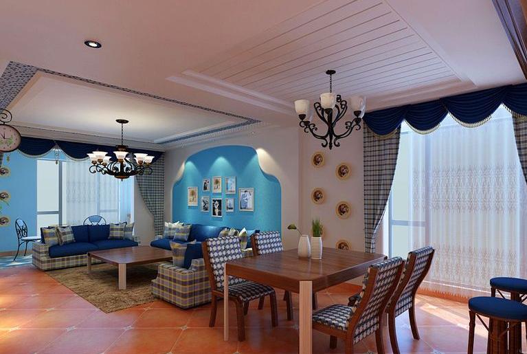 正商铂钻 田园风格 美巢装饰 餐厅图片来自美巢装饰在正商铂钻154平四室田园风格设计的分享