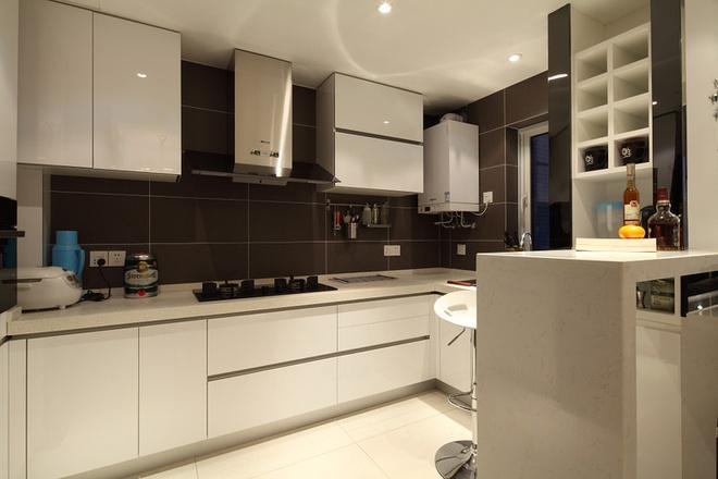 时尚 三居 现代 厨房图片来自合建装饰李世超在时尚经典三居室的分享