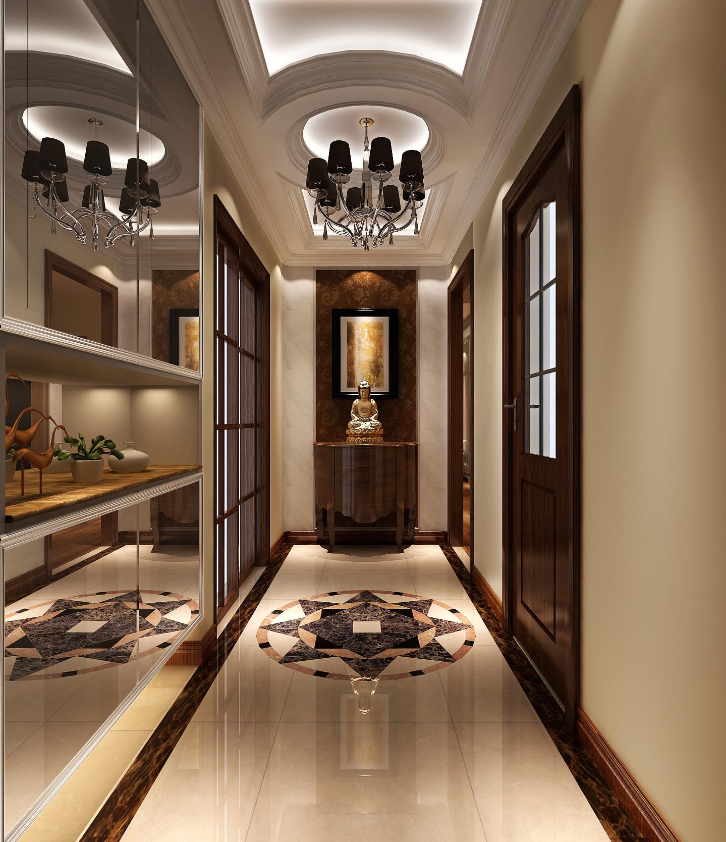 简约 混搭 别墅 白领 80后 复式 高度国际 鲁能7号院 时尚 玄关图片来自北京高度国际装饰设计在鲁能7号院混搭复式公寓的分享