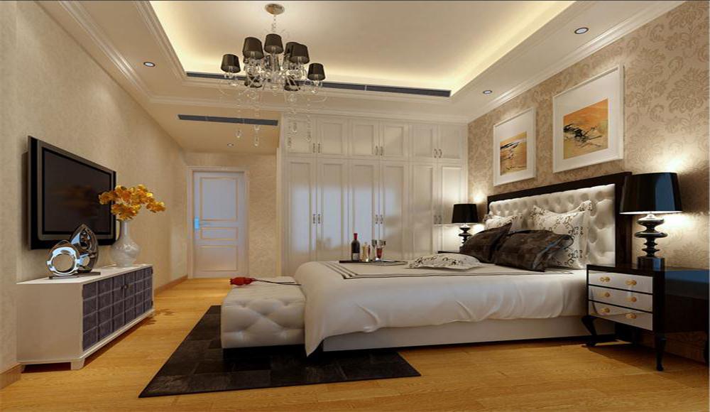 卧室图片来自深圳市浩天装饰在阳光天地的分享