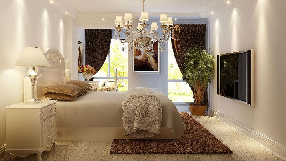 新古典风格 两居室 西山国际城 高度国际 装修设计 卧室图片来自高度国际装饰宋增会在西山国际城 两居室 新古典风格的分享