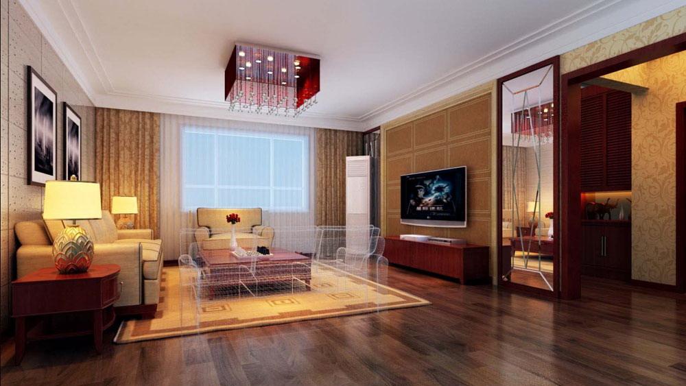 时尚混搭 三居室 长滩壹号 高度国际 装修设计 客厅图片来自高度国际装饰宋增会在长滩壹号 三居室 时尚混搭风格的分享
