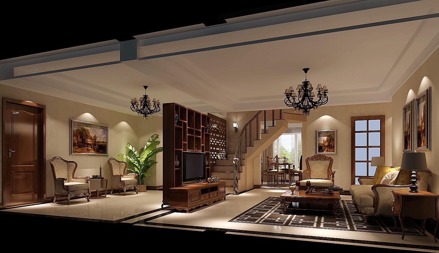 简约 混搭 别墅 白领 80后 复式 高度国际 鲁能7号院 时尚 客厅图片来自北京高度国际装饰设计在鲁能7号院混搭复式公寓的分享