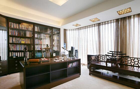书房图片来自佰辰生活装饰在14万造就180平复式简约美居的分享