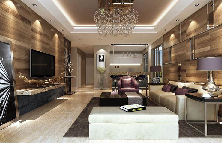 客厅图片来自美巢装饰在瀚海泰苑两室86平现代简约设计的分享