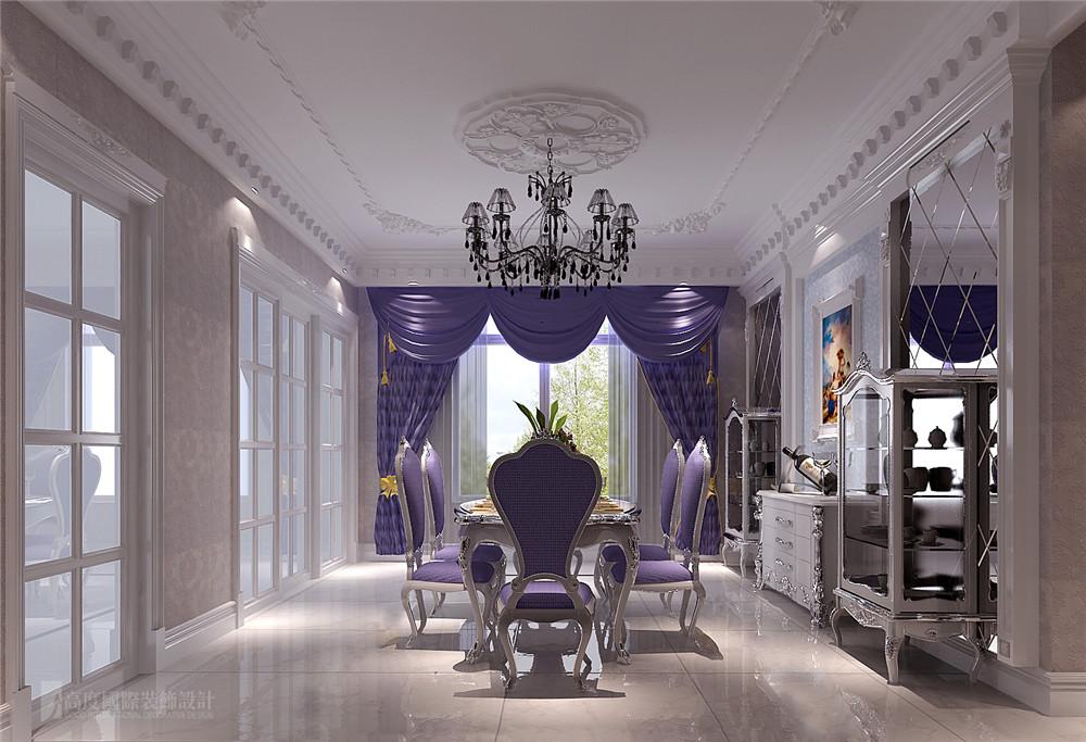 欧式 别墅 装修 设计 餐厅图片来自高度国际别墅装饰设计在欧式奢华风格装修设计的分享
