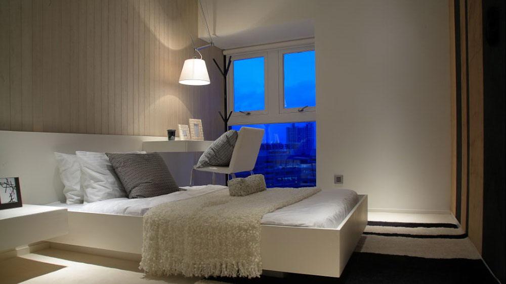 现代简约 四居室 绿地 高度国际 装修设计 卧室图片来自高度国际装饰宋增会在绿地 四居室 现代简约的分享