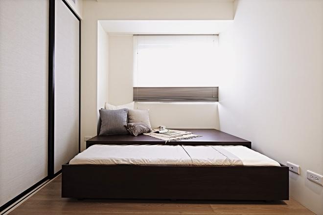 卧室图片来自家装大管家在自然朴实 98平现代简洁舒适之家的分享
