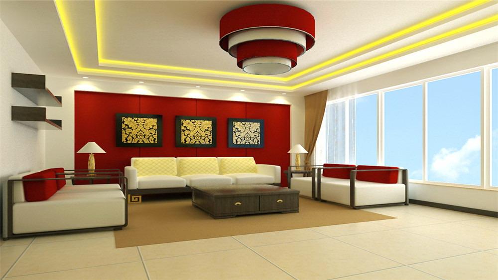 新中式 三居室 香花畦 高度国际 装修设计 客厅图片来自高度国际装饰宋增会在香花畦 三居室 新中式的分享
