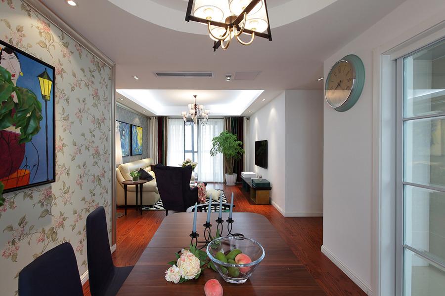 名仕装饰 简约 三居 餐厅图片来自名仕装饰龚经理在华润橡树湾137平现代风的分享