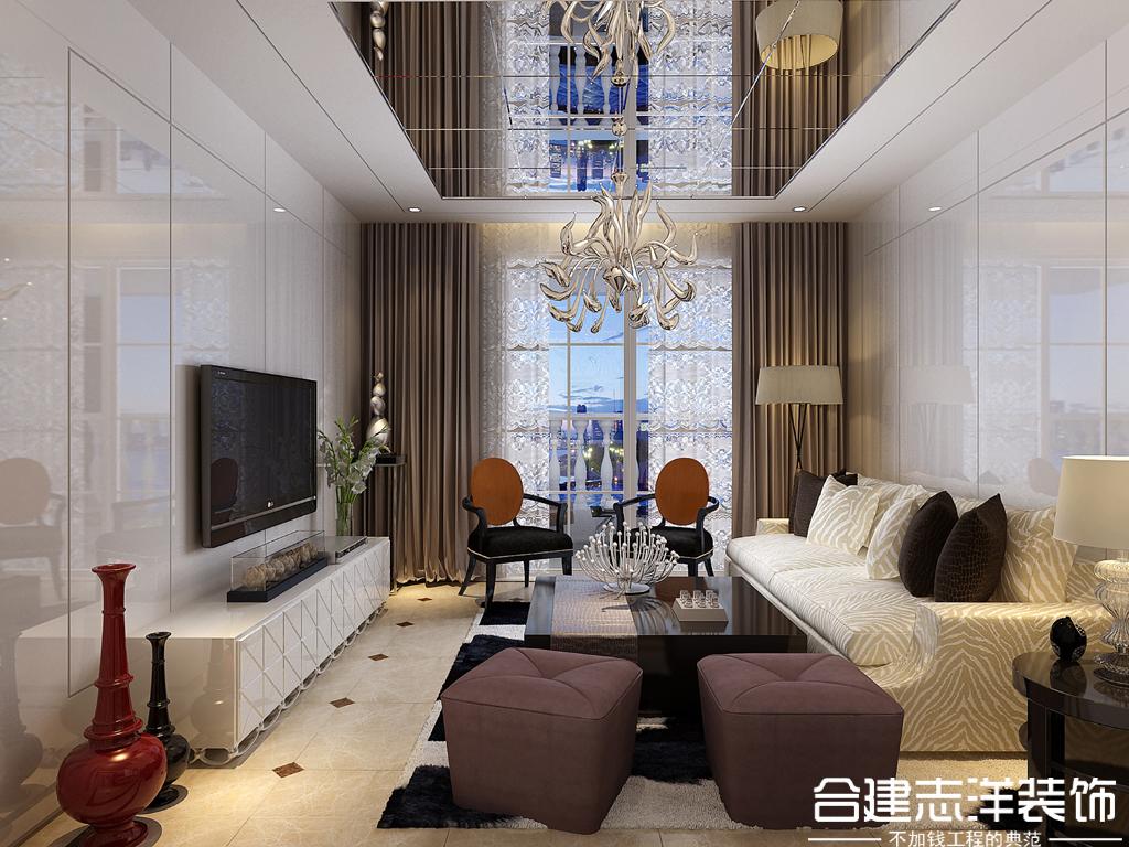 简约 白领 小资 合建装饰 客厅图片来自合建装饰王清贤在城建·琨廷 简约风的分享