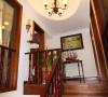名雕丹迪别墅设计-星河丹堤别墅——美式楼梯