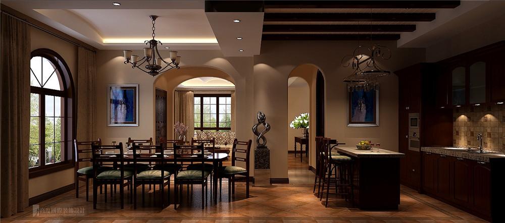 别墅 设计 装修 托斯卡纳 健康 餐厅图片来自高度国际别墅装饰设计在托斯卡纳风格别墅装修设计效果图的分享