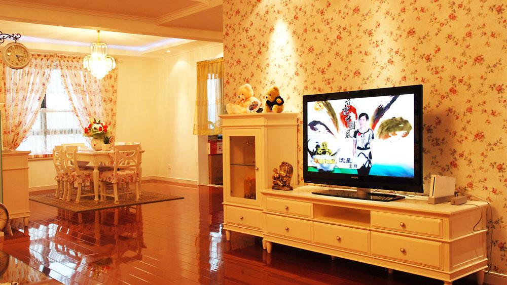 黄南苑 三居室 田园风格 高度国际 装修设计 客厅图片来自高度国际装饰宋增会在黄南苑 三居室 田园风格的分享