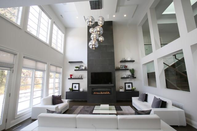 客厅图片来自石俊全在黑白色的空间的分享