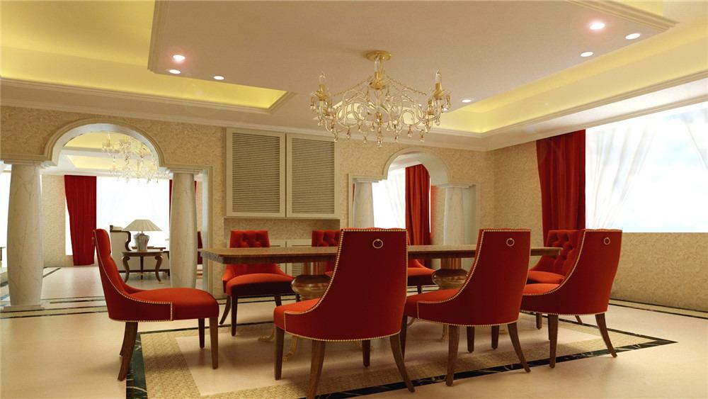 欧式 别墅 汤泉逸墅 高度国际 装修设计 餐厅图片来自高度国际装饰宋增会在汤泉逸墅 别墅 欧式的分享