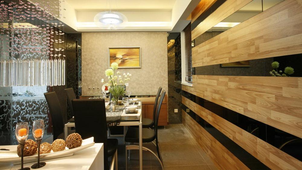 后现代风格 四居室 紫晶城 高度国际 装修设计 餐厅图片来自高度国际装饰宋增会在紫晶城 四居室 后现代风格的分享