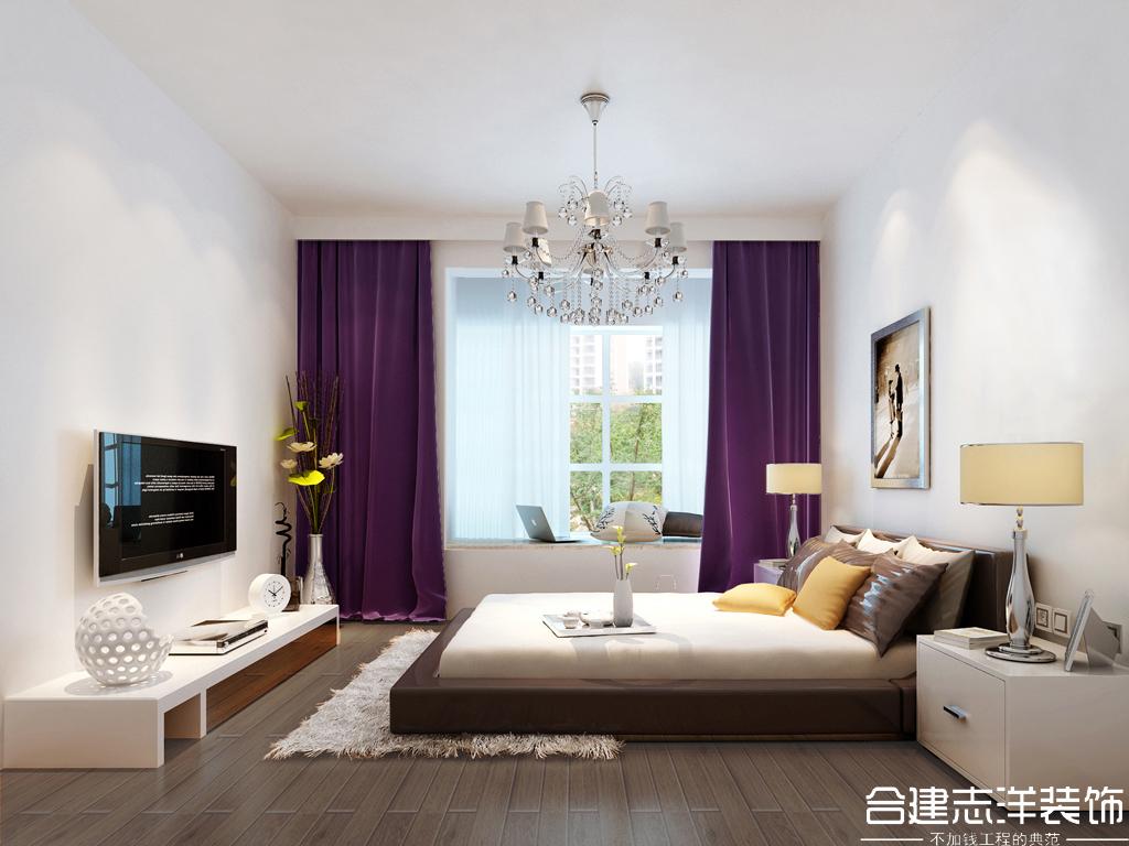 简约 白领 小资 合建装饰 卧室图片来自合建装饰王清贤在城建·琨廷 简约风的分享