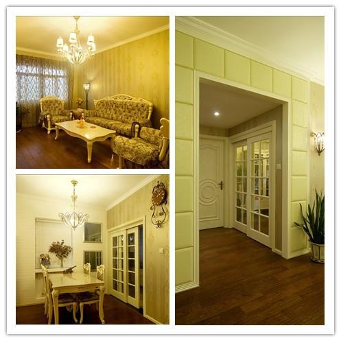 欧式 简约 混搭 三居 澳华装饰 客厅图片来自用户5193438255在5万打造锦绣江南112平米三口之家的分享