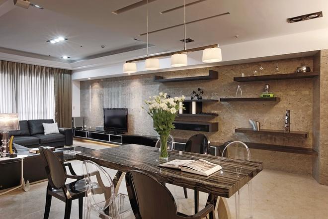 客厅图片来自家装大管家在活化空间 87平别样简约之家的分享