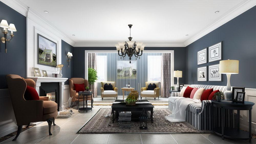 时尚混搭 三居室 富力城 高度国际 装修设计 客厅图片来自高度国际装饰宋增会在富力城 三居室 时尚混搭风格的分享