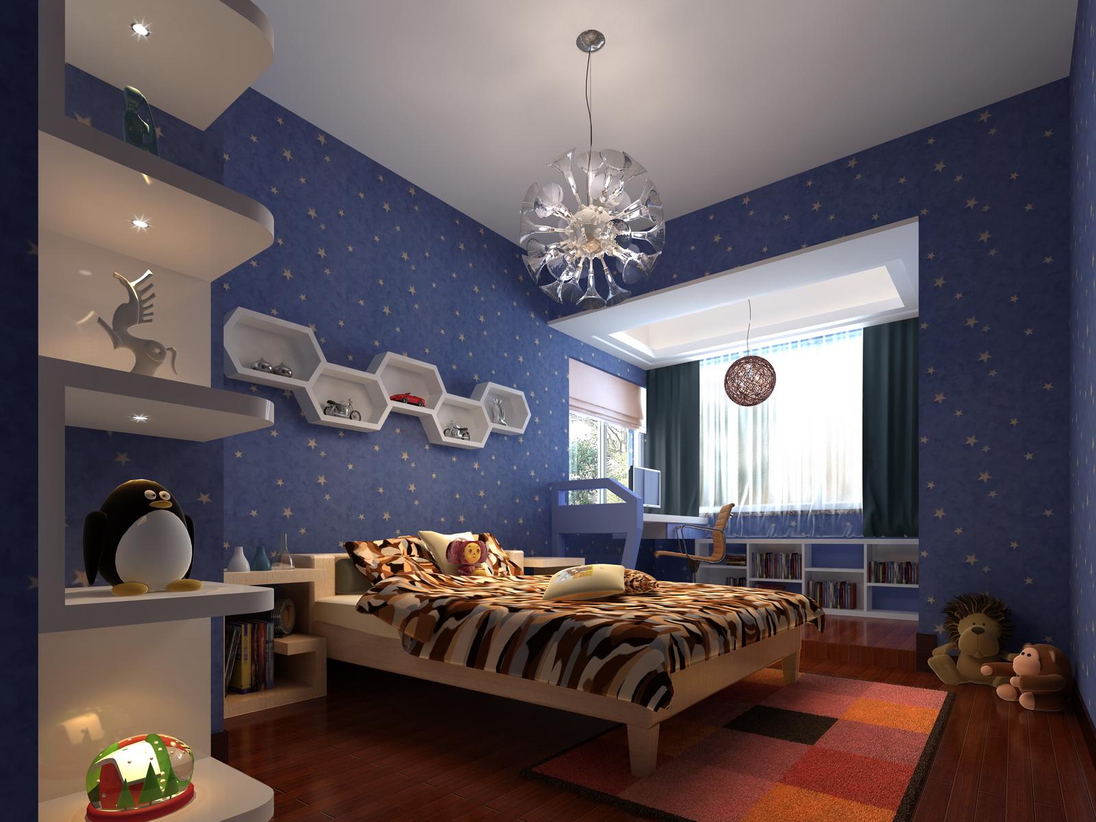 简约 欧式 收纳 别墅 卧室图片来自bjsdgjzs在【尚都国际装饰】九章别墅案例的分享