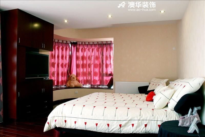 简约 三居 小资 澳华装饰 卧室图片来自用户5193438255在锦江国际106平米简约主义的温馨的分享