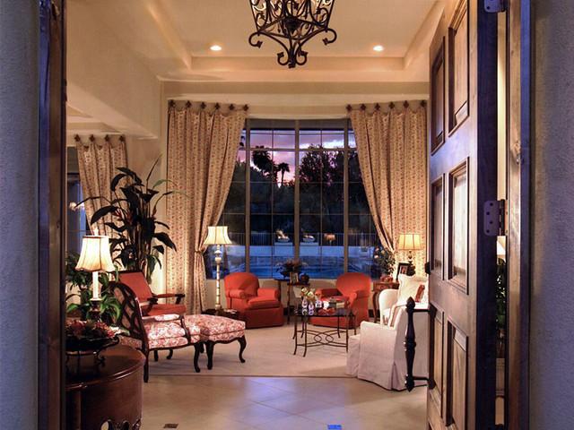 客厅图片来自石俊全在休闲式浪漫美式风格的分享