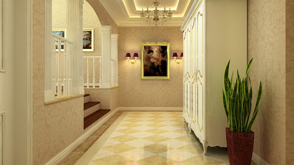 简欧风格 四居室 东湖湾 高度国际 装修设计 玄关图片来自高度国际装饰宋增会在东湖湾 四居室 简欧风格的分享