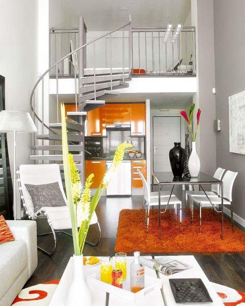 楼梯图片来自石俊全在极简品位生活的分享