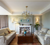绿色植物的乐园 148平简约美式复式家 ,美式风格,复式装修,温馨,沙发背景墙