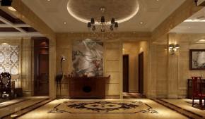 简约 高度国际 时尚 混搭 婚房 西山壹号院 白富美 白领 80后 玄关图片来自北京高度国际装饰设计在中西艺术的完美结合的分享