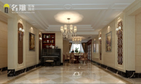 欧式 简欧 别墅 高富帅 公主房 宝能太古城 豪华别墅 餐厅 餐厅图片来自名雕装饰设计在宝能太古城新古典欧式豪华别墅的分享