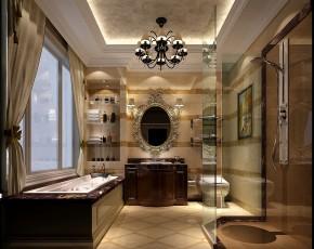 简约 高度国际 时尚 混搭 婚房 西山壹号院 白富美 白领 80后 卫生间图片来自北京高度国际装饰设计在中西艺术的完美结合的分享