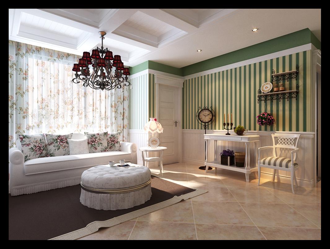 田园 二居 白领 80后 小资 客厅图片来自晋级装饰小金在保利溪湖林语田园风范的分享