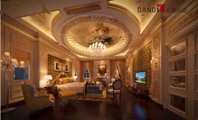 欧式 别墅 曦城别墅 别墅装修 名雕丹迪 豪宅装修 高富帅 卧室图片来自名雕丹迪在欧式奢华—曦城豪华别墅的分享