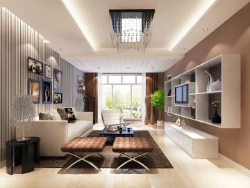 中景江山赋96平现代公寓